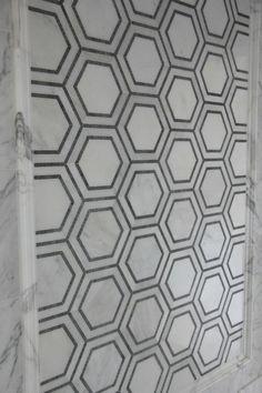 The master bathroom tile