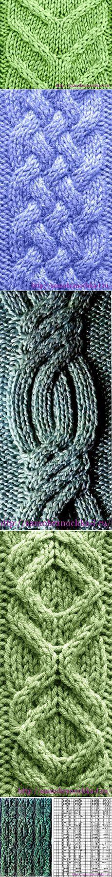 Рельефные узоры спицами | САМОБРАНОЧКА - сайт для рукодельниц, мастериц