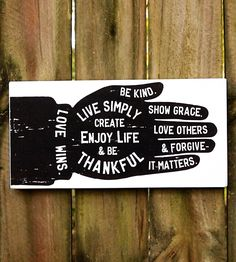 Large Hand & Motivational Sayings Sign by Sign