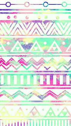 Soft tribal galaxy wallpaper I created for the app CocoPPa!