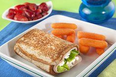 sandwich queso panela y pechuga de pavo