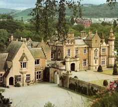 Abbotsford House, Galashiels, near Melrose, Scotland.... http://www.castlesandmanorhouses.com/photos.htm .... Abbotsford is a historic country house in the Scottish Borders, on the south bank of the River Tweed. A Scots Baronial mansion, it was built by the historical novelist and poet, Sir Walter Scott, Bt. Today, Abbotsford House is a Category A Listed Building.
