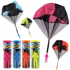 Special Chance of Hand Throwing Mini Soldier Parachute Funny Toy Kid Outdoor Game Play Educational Toys Fly Parachute Sport for Children Toy. Outdoor Toys For Kids, Outdoor Fun, Sierra Leone, Fun Fly, Funny Toys, Mini Hands, Sports Toys, Sri Lanka, Plein Air