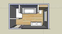 Foto: Slimme badkamerindeling voor ons nieuwe huis!. Geplaatst door Mademoiselle op Welke.nl