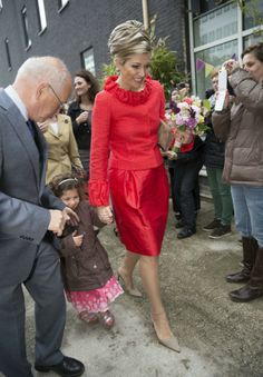 Queen Maxima attended 150th Anniversary Of Sophia Childrens Hospital at Sophia Children's Hospital  in Rotterdam.