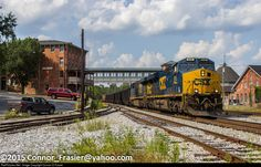 Csx Transportation, West Virginia, Trains, Train