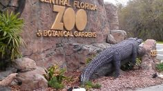 Central Florida Zoo & Botanical Gardens in Sanford FL
