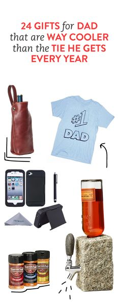 24 awesome gift ideas for dad