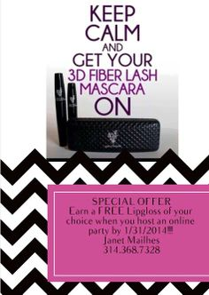 #earnfreeproduct #partyon  #younique #3Dfiberlashmascara
