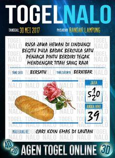 Pools JP 3D Togel Wap Online TogelNalo Bandar Lampung 30 Mei 2017