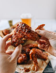This soy garlic Korean fried chicken recipe is crispy sweet, spicy, and sticky—perfect with cold beer and definitely worth breaking out the frying oil! Source: thewoksoflife.com
