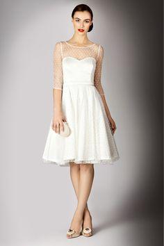 Literally the most beautiful dress I've ever seen - and my dream wedding dress. Coast Stores - Dresses - ADDARIA SPOT DRESS
