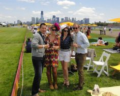Veuve Clicquot polo at Liberty State Park