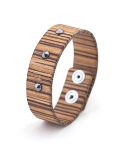 ROCK ZEBRANO RIGATO #bracelet #fashion #woodbracelet #wood #design #madeinitaly