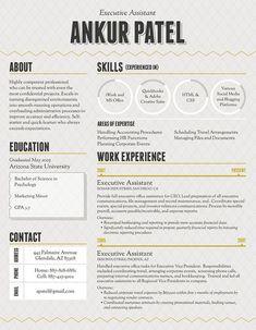 40 Creative CV Resume Designs Inspiration 2014 | Web & Graphic Design ...