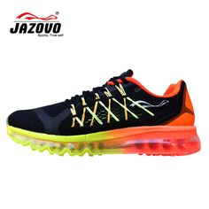 online store a3ff9 9d77d Jazovo Man Running Shoes For Best Trends Run Athletic Trainers Green  Zapatillas Sports Shoe Cushion Outdoor Walking Sneakers max