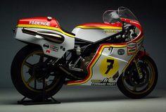 Barry Sheene's Suzuki XR Gran Prix machine.
