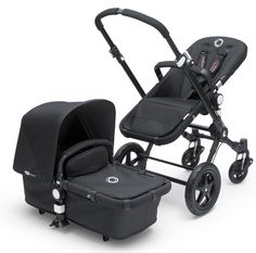 Nobody freak out now. This is a badass example of transformative industrial design. Super sleek and well done. Bugaboo Chameleon 3 All Black Special Edition