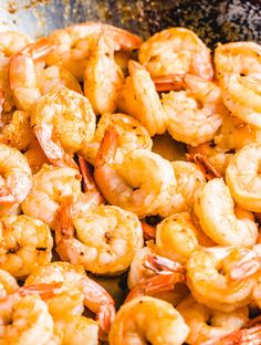 Under 30 minutes shrimp tapas recipe. Only 5 ingredients to make this delicious appetizer or double it and serve with rice for an easy weeknight meal. Chorizo Recipes, Tapas Recipes, Shrimp Recipes, Recipes Dinner, Whole Food Recipes, Great Recipes, Shrimp Appetizers, Yummy Appetizers, Easy Weeknight Meals