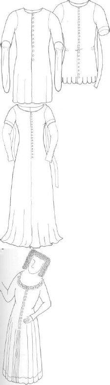 Women's cotehardies for The Medieval Tailor's Assistant