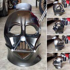 Rubies Supreme Darth Vader Mask Modification