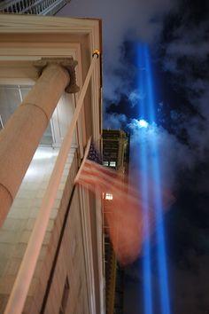 WTC tribute lights | #wtc #nyc #usa