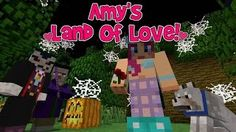 Amy's Land Of Love! Ep.115 Fright Night! | Halloween Special! | Minecraft | Amy Lee33 - YouTube