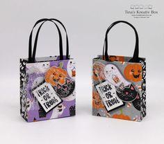 Blog Hop inspireINK – Halloween Täschchen – mit Produkten von Stampin' Up! Halloween Taschen, Stampin Up, Blog, Community, Projects, Packaging, Creative, Gifts, Log Projects