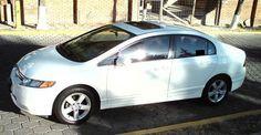 Honda Civic EXS 2007 4 cil. T.Manual de  5 vel, color blanco - Carros - México