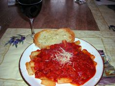 Old World Italian Spaghetti Sauce from Food.com: This is a great old world Family recipe. Its also great with italian sausage,or meatballs. Just stir often while cooking when using meats.