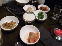 Kimchi Princess - Kreuzberg, Berlin. Korean traditional side dishes and rice