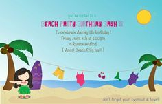 Design invitation for my lovely niece .
