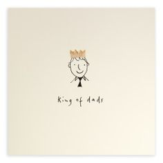 Pencil Shavings Card – King of Dads