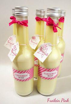 Zauberhaftes Küchenvergnügen: Vanillelikör mit weißer Schokolade