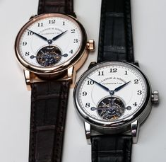 A. Lange and Sohne 1815 Tourbillon Watch Hands-On