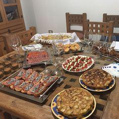 Cena de #cumpleaños lista!