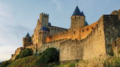 Carcassonne is a very famous fortified medieval town located in the Languedoc-Roussillon (Aude department) region in the South of France.