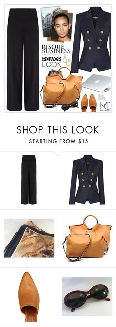 """""""My Power Look"""" by mcheffer ❤ liked on Polyvore featuring Sarah Pacini, Balmain, Dyson, Dar, Maryam Nassir Zadeh and MyPowerLook"""