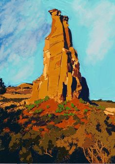 Independence rock By Craig Nelson