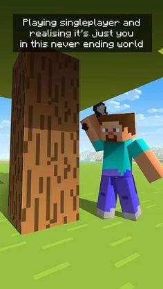 Funny Minecraft Videos, Minecraft Comics, Minecraft Anime, Minecraft Characters, Minecraft Tips, Minecraft Creations, Minecraft Crafts, Minecraft Designs, Stupid Funny Memes