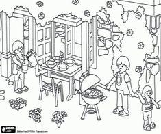 ausmalbilder playmobil kinderzimmer   playmobil ausmalbilder