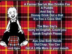 Slut fae scotland was