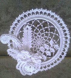 irish lace crochet pattern Sweet Nothings Crochet, SUN LIGHT OR DREAM CATCHER Irish Lace dream catcher, free crochet pattern, dream catcher free pattern. Lace Doilies, Crochet Doilies, Crochet Flowers, Crochet Lace, Free Crochet, Irish Crochet Patterns, Doily Patterns, Crochet Motif, Lace Dream Catchers