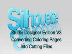 Studio V3 - Converting Coloring Pages to Cutting Files; also uses Rapid Resizer.  From Debbie H.
