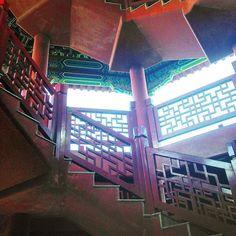 #china #chine #guangdongprovince #guangdong #panyu #escalier #stairs #chinese…