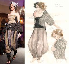 #moda #abiti #artigianato Anna Primi #fashion #modelli http://omaventiquaranta.blogspot.it/2013/11/anna-primi_14.html