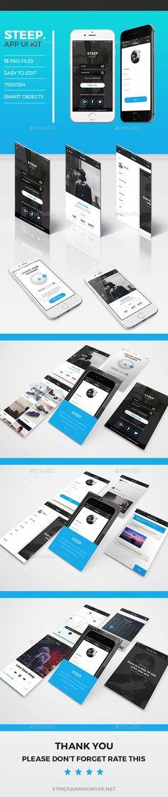 Steep App UI Kit