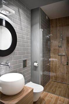 Modern Bathroom Ideas for Small Bathrooms Elegant Walk In Shower In A Small Bathroom – Design Ideas for Bathroom Toilets, Bathroom Renos, Basement Bathroom, Bathroom Interior, Bathroom Modern, Masculine Bathroom, Bathroom Renovations, Remodel Bathroom, Bathroom Layout