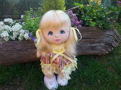 MONIKA my child doll -  v part platinum, blue eyes, charcoal makeup