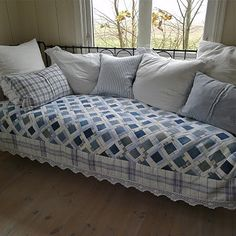 Denim quilt.  I like this look!